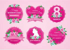 平贴的国际妇女节标签_124281780101