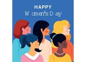 平面设计国际妇女节插图_122416970101