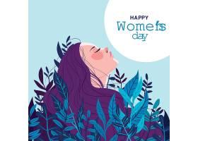 国际妇女节手绘插图_124261930101