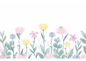 手绘春色背景_122401440101