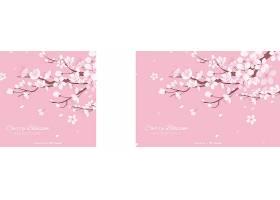 手绘樱花背景_40937010103