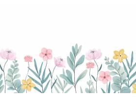 水彩画春色背景_122820210102