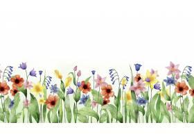 水彩画的春色背景_122397510102