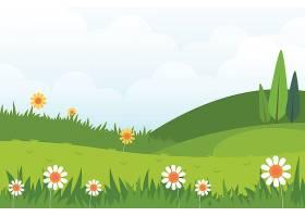 平面设计春季景观主题_67931310101
