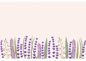 空白的花卉背景_122022100101
