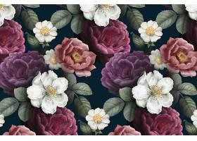 浪漫的花卉背景_41220130101