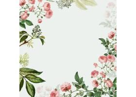 粉色花框_40423000101