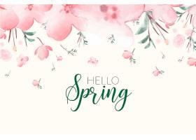 春季花卉背景_68264330101