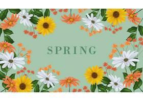 逼真的春天背景_124273650101
