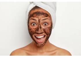 美丽快乐的女人健康清新的皮肤笑容满面_1249572801