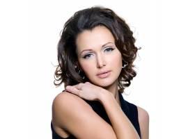 一位美麗的成年性感女子的肖像_1001153601