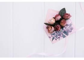 花卉婚礼请柬信封样机水彩画_39081480102