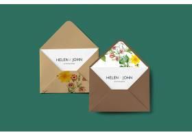花卉信封设计_39936520102