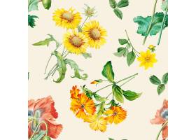 花卉图案背景_39936350102