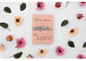 带玫瑰花的母亲节模拟笔记本_42163980102