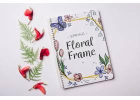 一种花卉春季用记事本模板_38816600102