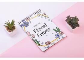 一种花卉春季用记事本模板_38816700102