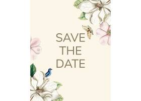 保存日期婚礼邀请函样卡_37637990102
