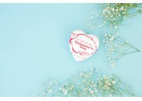 情人节的心形盒子样机_35976470102