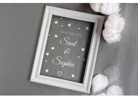 鲜花婚礼用镜框_74368900102