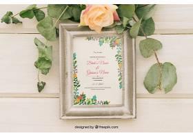 植物花卉和相框_12125940102