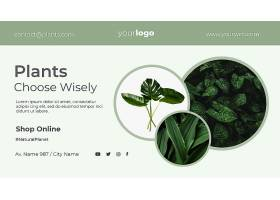横幅植物商店模板_105132330101