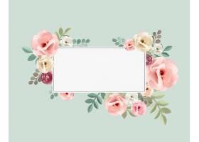玫瑰花纹花卉质感概念_27774420102