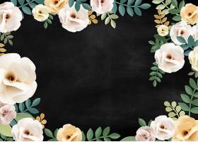 玫瑰花纹花卉质感概念_27774440102