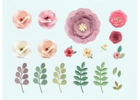 玫瑰花纹花卉质感概念_27774460102