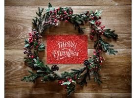 圣诞节日问候设计样机_33846560102