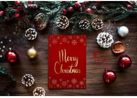 圣诞节日问候设计样机_33846620102