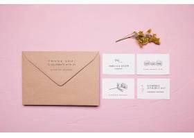 婚礼信封设计样机_89662960102