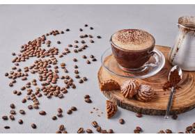 饼干配一杯咖啡_1083646201