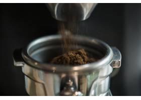 新鲜研磨咖啡特写_307520201