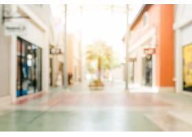 模糊背景商场的商店背景用波克模糊复古_138762801