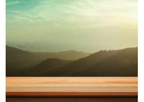 山峰模糊不清的台面柜台很好地用于产品展_123879201