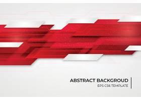 红色形状的抽象背景模板_67006590101