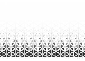 白色背景上的灰色三角形图案_40447930101