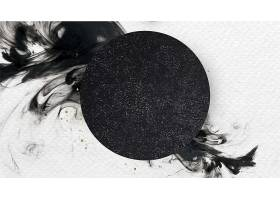 白色背景上的黑色圆圈_124593710101
