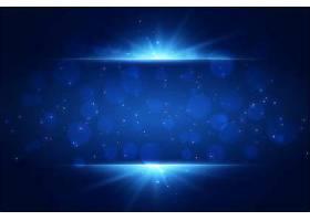 蓝光在背景上闪闪发光并带有文案空间_51307960101