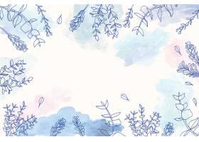 用花卉设计复制空间背景_122630780102