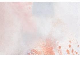 画布背景上的粉笔油画_45575610101
