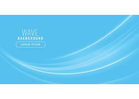 蓝色波光闪闪的商业背景_38671170101