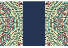无缝图案复古装饰元素手绘背景_129195670101