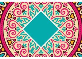 无缝图案复古装饰元素手绘背景_129204270101