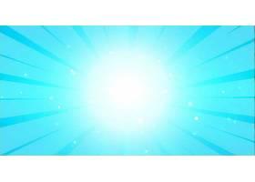 明亮的蓝色发光背景带有中心灯_84131490101
