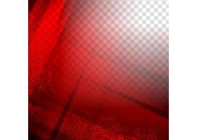抽象现代红色几何多边形背景