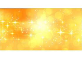 带有文本空间的抽象闪闪发光的黄色横幅_71862370101