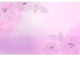 手绘元素的水彩背景_126895440101