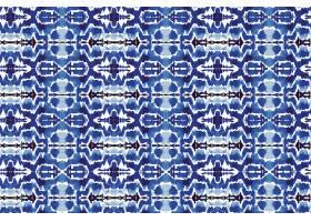 Shibori无缝图案水彩画_128129970101